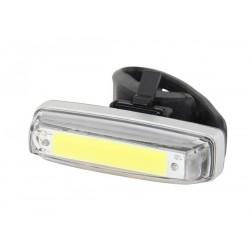 Svetlo predné PRO-T Plus blikacie COB diody nabijacie cez USB kabel 238
