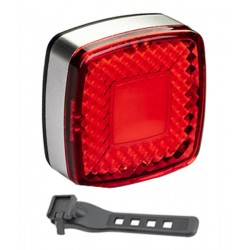 Svetlo zadné PRO-T Plus 25 Lumen 25 chips LED diód nabíjací cez USB 310