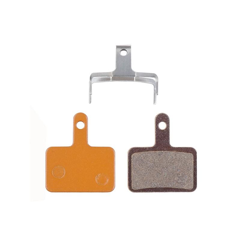Brzdové doštičky PRO-T AGR Organic na Shimano Mechanical/Hydraulic (box 50párov)