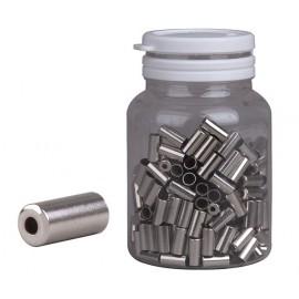 Koncovka bowdenu PRO-T 5mm strieborná CNC (fľaša 250ks)