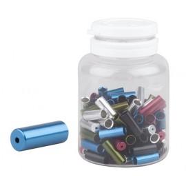 Koncovka bowdenu PRO-T Plus 4mm čierna CNC utesnená (fľaša 100ks)