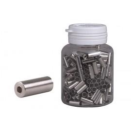 Koncovka bowdenu PRO-T 4 mm strieborná CNC (fľaša 250ks)