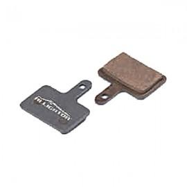 Brzdové doštičky PRO-T Plus AGR Semi-Metallic na Shimano Mechanical/Hydraulic