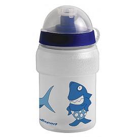 Fľaša detská POLISPORT Shark 0,3l s krytom