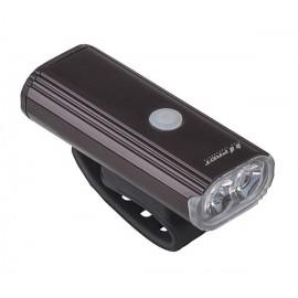 Svetlo predné PRO-T Plus 750 Lumen 2 x 10 Watt LED dioda nabíjací cez USB kábel 7067