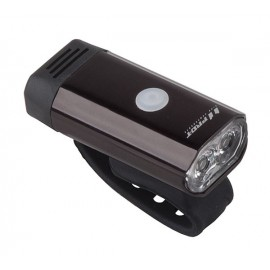 Svetlo predné PRO-T Plus 300 Lumen 2 x 5 Watt LED dioda nabíjací cez USB 7066