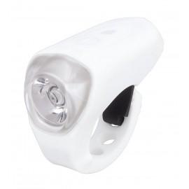 Svetlo predné PRO-T Plus 0.5 Watt Super LED dióda nabíjací cez USB kábel 185 Silicone