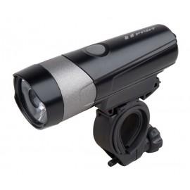 Svetlo predné PRO-T Plus 500 Lumen 6 Watt LED dióda nabíjací cez USB kábel 222