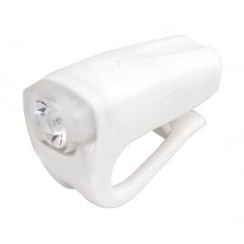 Svetlo predné PRO-T Plus 3 Watt LED dióda nabíjací cez USB kábel 378 Silicone