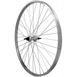 Zapletené koleso RODI Parallex zadné závit 7sp., Al náboj 36d. MTB
